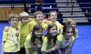 The Kid-A-Canes FLL Team - Harrison, Reagan, Ross, Hogan, Erin, Grace, Caroline & Whitney