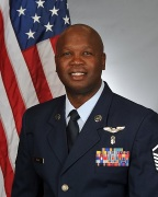 USAF Master Sgt. Anthony Smith is an American Red Cross volunteer.