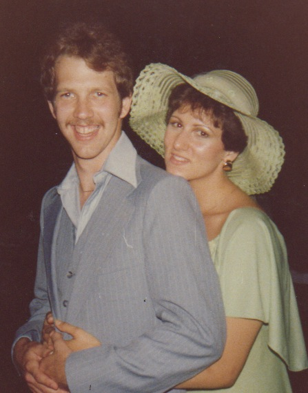 1978 Dave & Desiree Engaged