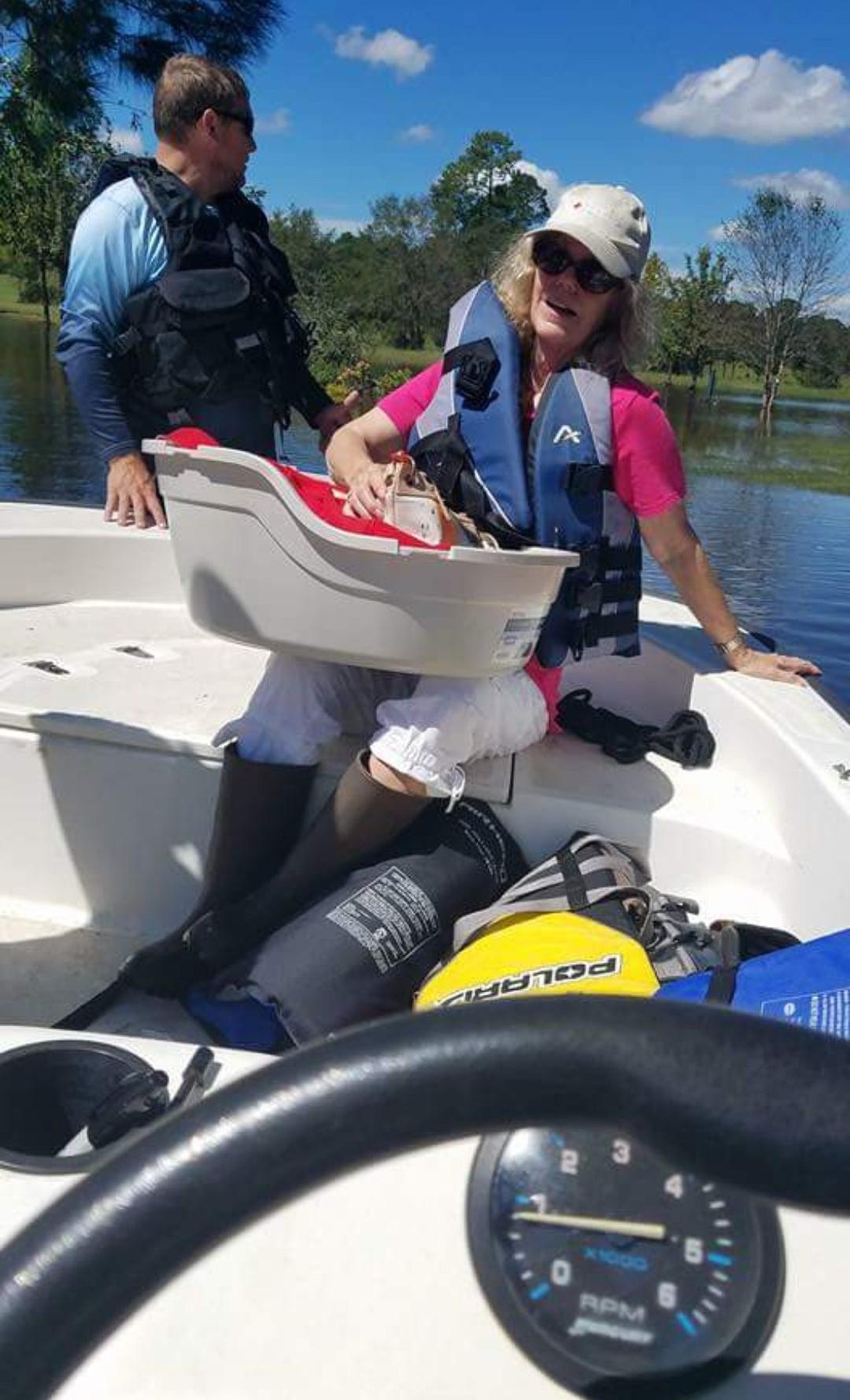 Steinbraker rescue boat