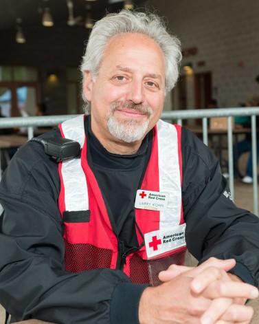 Larry Kohn, , American Red Cross Volunteer