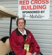 Kathy Ellen, American Red Cross First Aid Station Manager